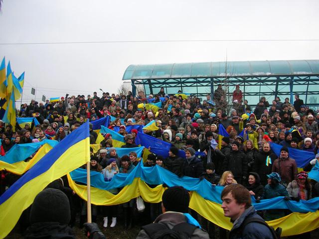 Фото з дня Соборності 2011