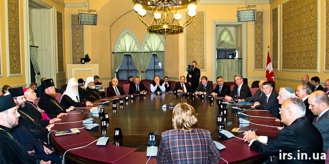 зустріч ВРЦіРО у Парламенті Канади