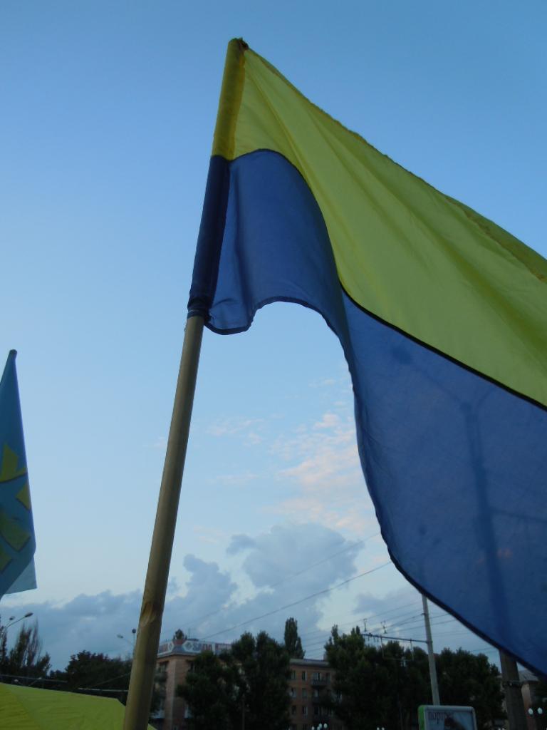 прапор Херсон мовний намет