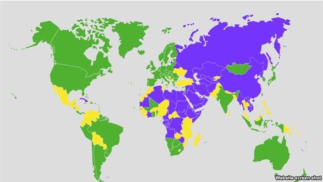 карта світ