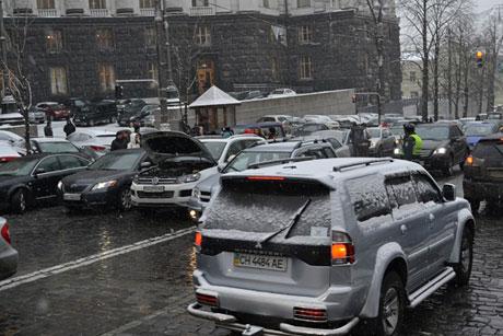 автівки киїів протест