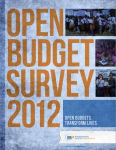 open budget survey