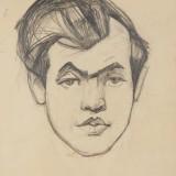 Портрет Леся Танюка, 1963, папір, олівець, 29х22