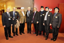 Марк Шнайер, Герман ван Ромпей, лідери іудейських і мусульманських громад Європи