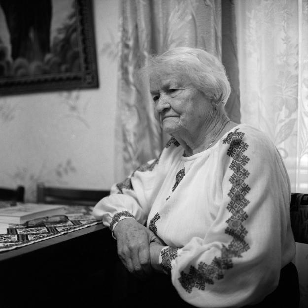 Добушовська-Григоращенко Любомира, член молодіжної сітки ОУН, 1929 р.н., м. Кіровоград.