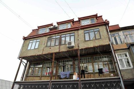 Саакашвілі-не президент буде жити тут, у багатоквартирному будинку