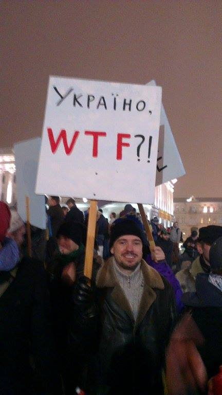 Лідер симпатій нашого корра #Євромайдан Київ