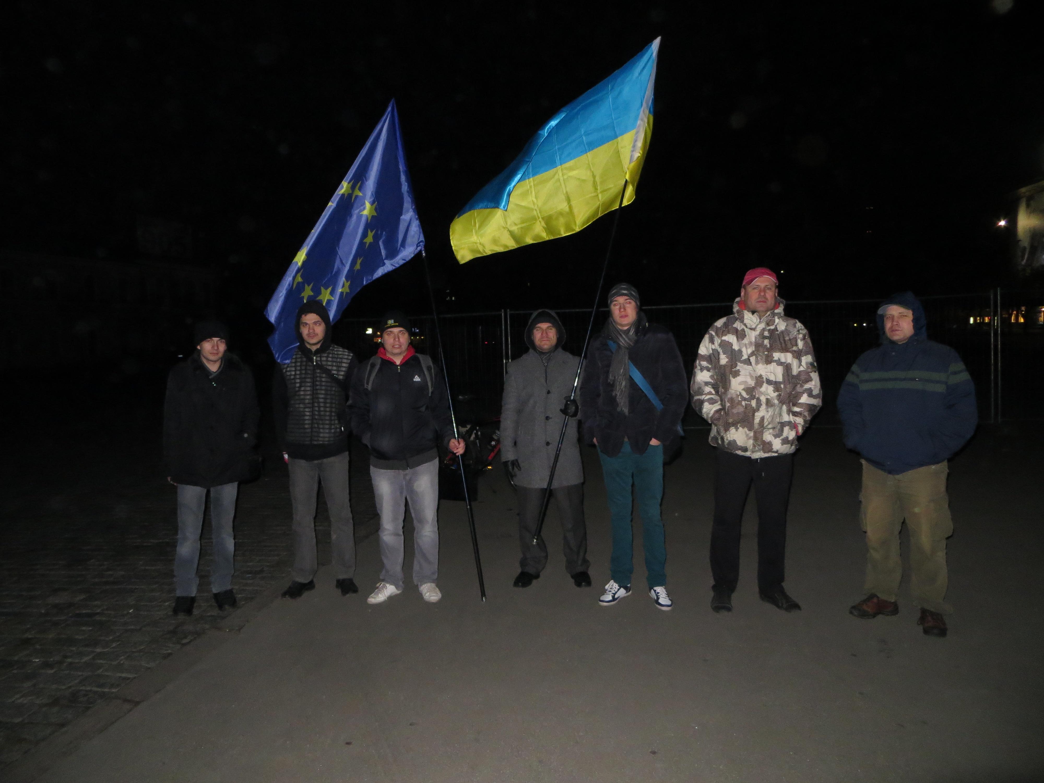 Харків, 2:30 ночі. #Євромайдан