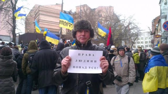 Олександр Северин, правовий радник Майдан Моніторинг, кандидат юридичних наук, в Києві.