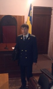 Прокурор слухає Христину Бевз