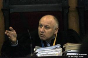 Суддя Бурбела.  (Фото Олени Білозерської)