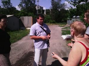 Очільник ЖЕКу Анісімов М.Ю.