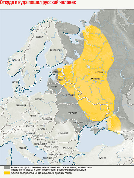 Откуда и куда пошел русский человек