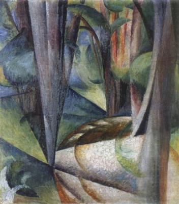 E36 3 Bohomazov Oleksander_Forest_Boiarka (1915)