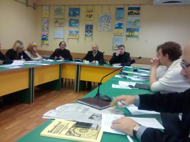 Учасники круглого столу. Фото Ігор Кіянчук