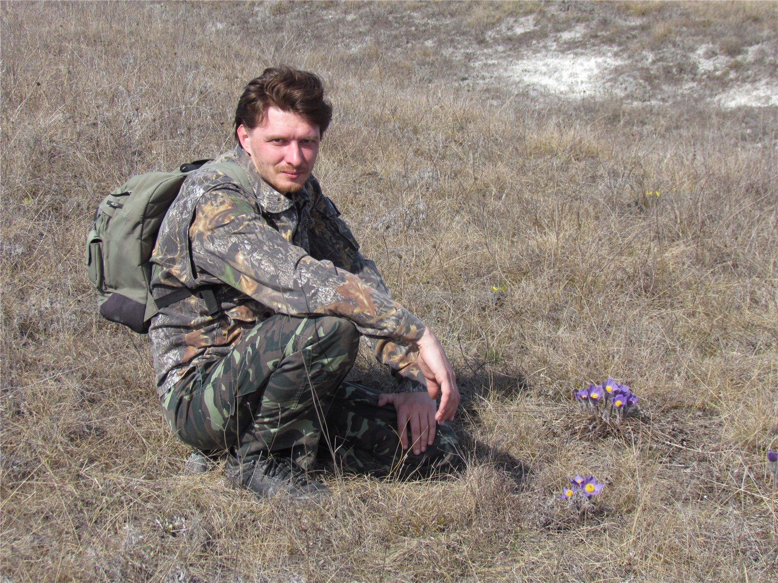 Директор Дворічанського національного природного парку М.О. Височин