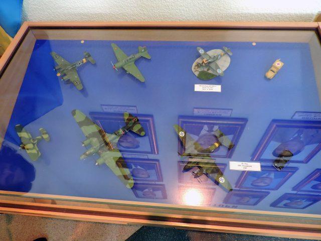 Моделі авіаційної техніки часів Другої світової війни.