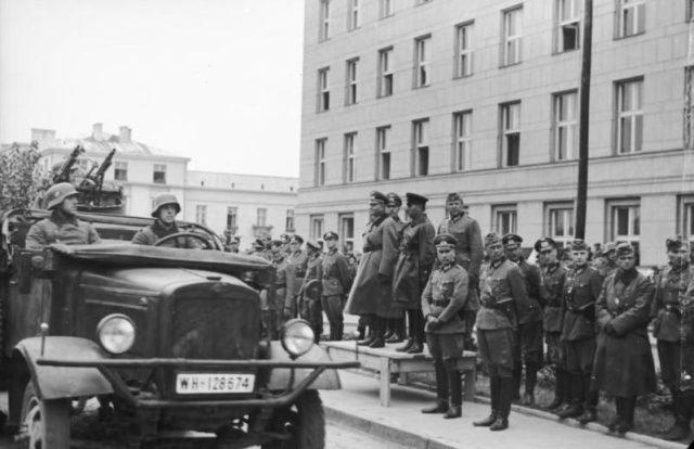 Polen, Siegesparade, Guderian, Kriwoschein