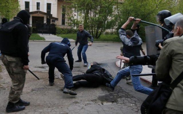 Донецк. 28 апреля 2014 г.