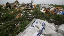 MH17 crash place