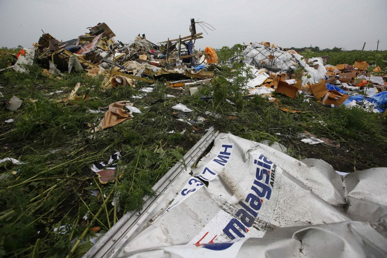 MH17 crash place