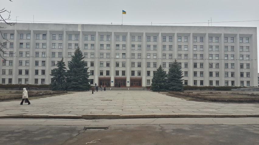 Площа перед Полтавською ОДА. Майбутня