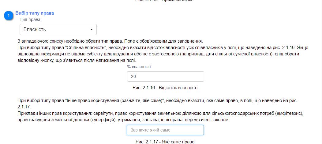 Скріншот з сайту Єдиного державного реєстру декларацій