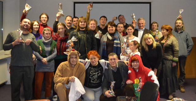 Третина дійсних членів організації святкує 15 річчя. 19 грудня 2015 року. Десь в лісу.
