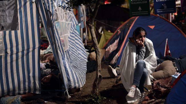 Парк Гезі у Стамбулі під повним контролем протестуючих