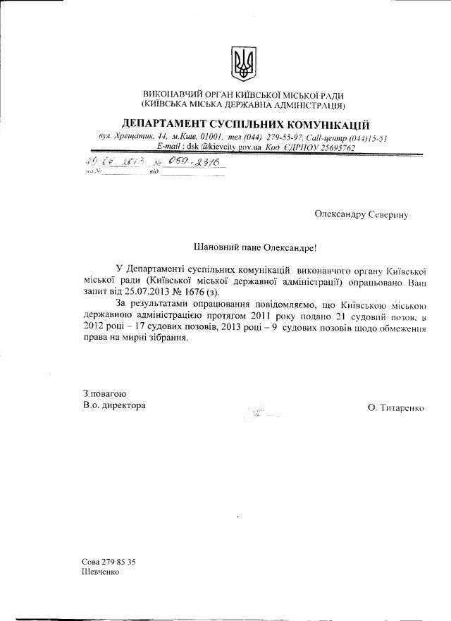 Обмеження всім КМДА-відп-1