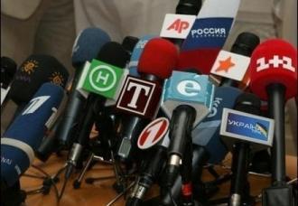 мікрофони ЗМІ преса