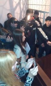 Христина Бевз запитує у прокурора, чи він і справді вважає, що її чоловік має сидіти 9 років