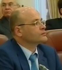 О. Проскуряков, інженер-геолог, екоміністр з 24 грудня 2012 по 27 лютого 2014 р.