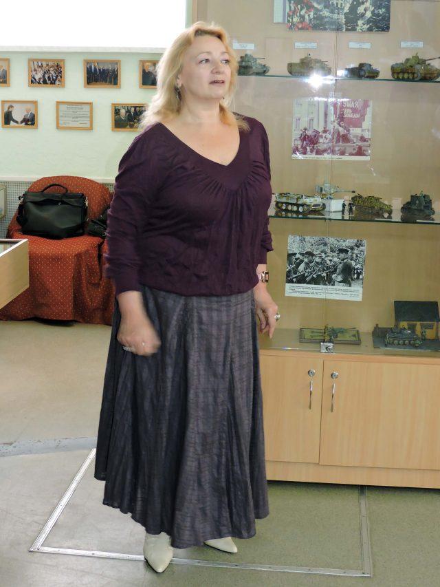 Завідувачка Музею історії ХНУРЕ Людмила Тихоненко