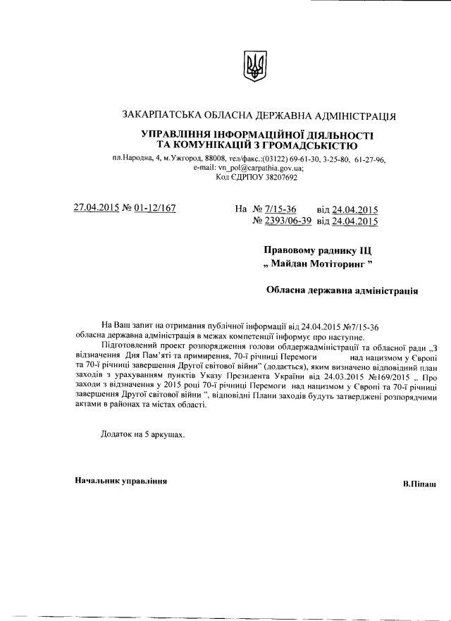 Закарпатська ОДА-травень-1