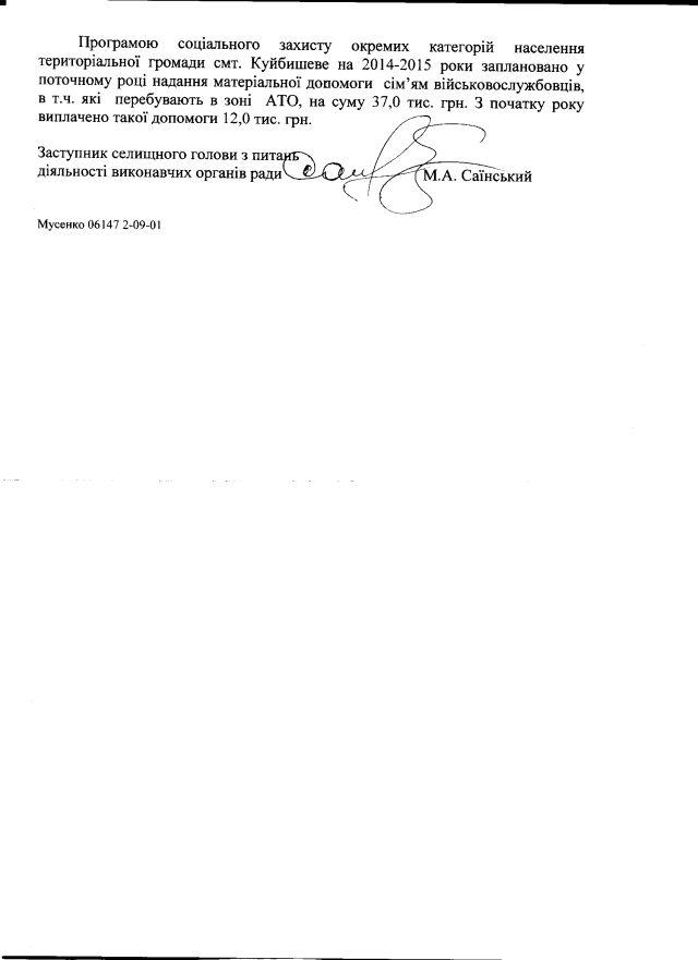 Куйбишеве-травень-2