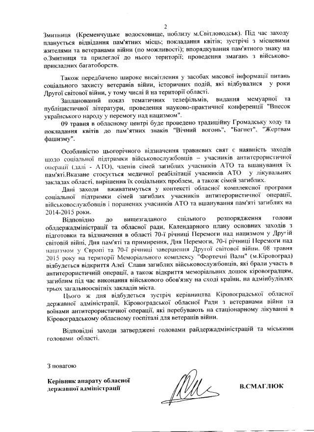 Кіровоградська ОДА-травень-2