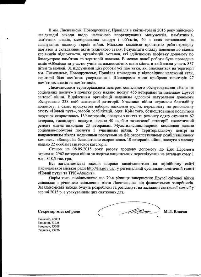 Лисичанськ-травень-2