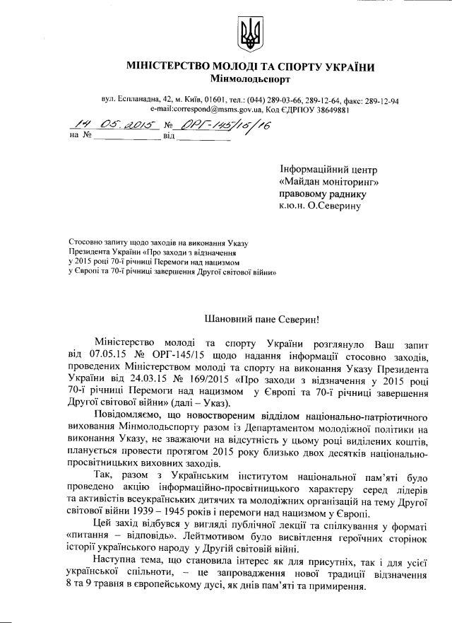 Мінмолодьспорт-травень-1
