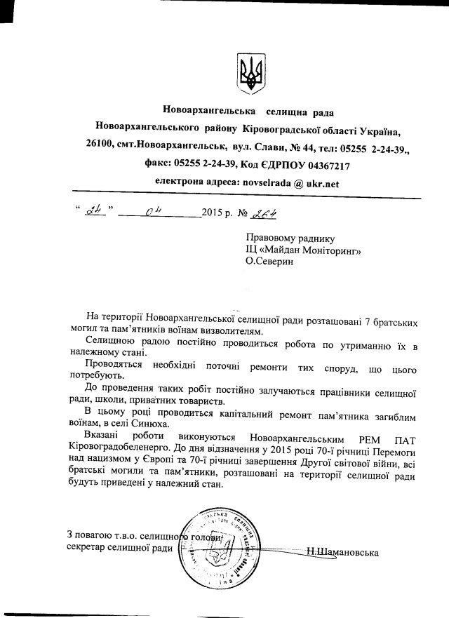 Новоархангельськ-травень