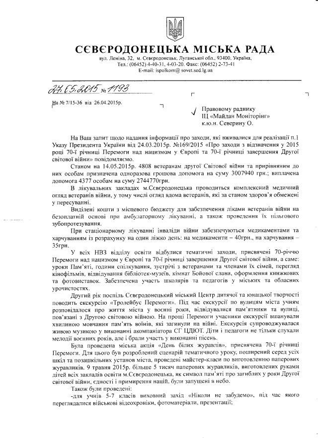 Северодонецьк-травень-1