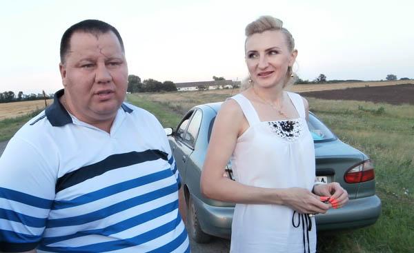 Олександр Павлюченко та Ірина Степаненко