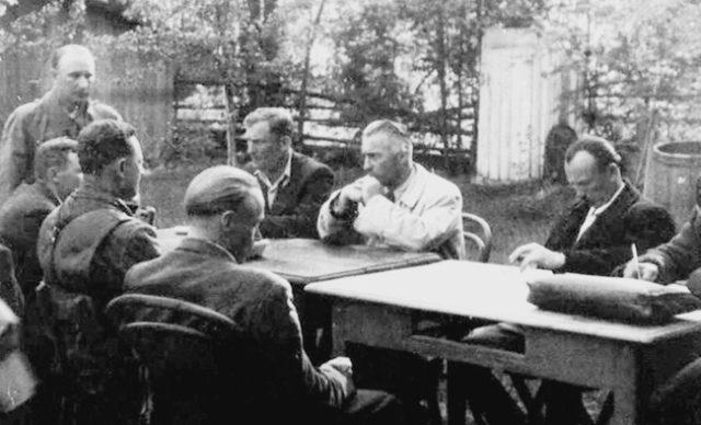 Переговори між представниками польського та українського підпільних рухів, 21 травня 1945 року с. Руда Ружанецька