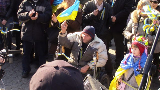Kharkiv, March 9, 2014, faces of Euromaidan Photo by Nataliya Zubar