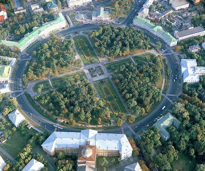 Полтава. Кругла площа